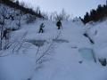 Подъём по ручью