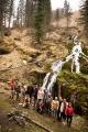 Емурлинский водопад и команда