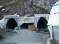 Въезд в тоннель Анзоб