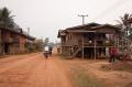 В лаосской деревне