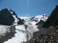 Ледник, радиальный выход