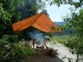 Лагерь в устье Сумульты