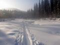 Лыжня по р.Коный
