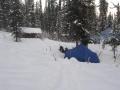 Избушка у р.Байгол и наша палатка