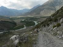 Дорога над Аргутом